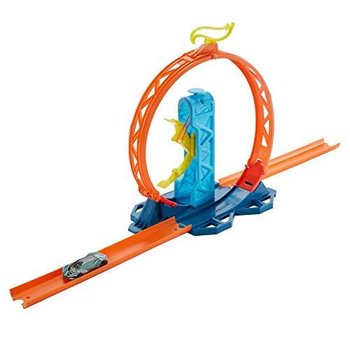 Hot Wheels GLC90 - Track Builder Unlimited Looping Kicker Set Zubehörteile, Spielzeug ab 6 Jahren