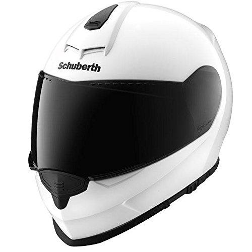 Casco de moto, color blanco brillante SCHUBERTH S2 60/61