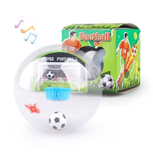 Juguete de Fútbol en la Palma con Luces y Música de Celebración Mini Juego de Fútbol Juego de GOL Regalos Juguetes para Niños Bebe