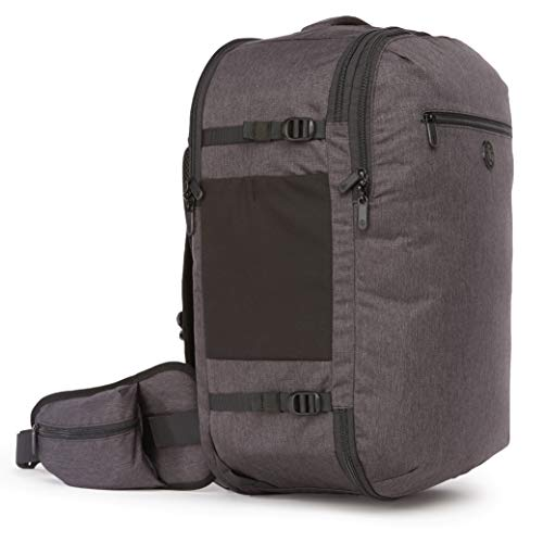 Tortuga Men's Setout 45L - Max-Size Carry On Travel Backpack (Heather Grey)
