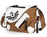 YOYOSHome Anime The Legend of Zelda Cosplay Handbag Messenger Bag Shoulder Bag School Bag (Brown)