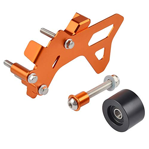 RONGLINGXING Powersports Onderdelen Geval Saver tandwiel Drive Guard beschermer dekking for KTM 125 SX 150 EXC XCW SX125 EXC125 2017 2018 2019 Husqvarna TC TX TE (Color : Orange)