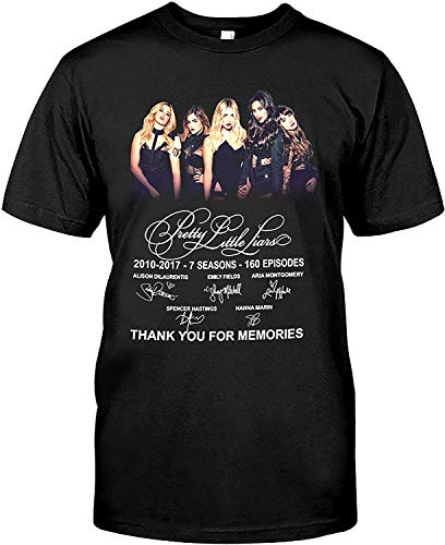 Thank You for Memories 7 Years 7 Seasons Pretty-Little-Liars T Shirt