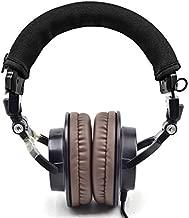 defean Headphone Protector Headband Fabric Compatible with Audio Technica M30 M40 M50 M50X M50S M40X Headphone
