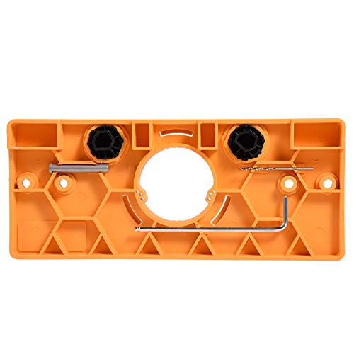 Hinge Drill Guide, Bit Guide Durable Hinge for Hinge Hole Technopolymer Boring Mask Made for 35mm Hinge