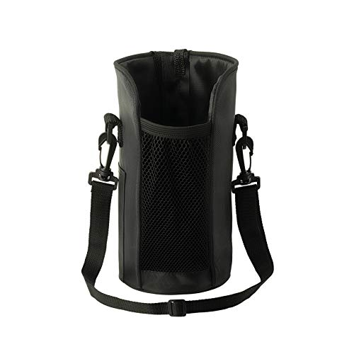 YIREN Sports Gallon Water Bottle Sleeve Carrier Holder Bag Case with Adjustable Shoulder Strap Oxford Cloth Material