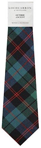 I Luv Ltd Gents Neck Tie Guthrie Ancient Tartan Lightweight Scottish Clan Tie