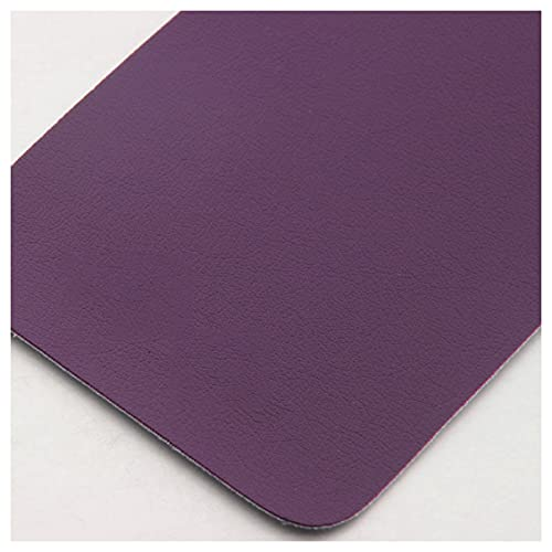 NAKAN Púrpura Tela de Polipiel por Metros 137x100cm PU Tela de Imitación de Cuero para Tapicería Sillas Sofá, Manualidades, Cabecero, 0,9mm de Grosor(Color:púrpura)