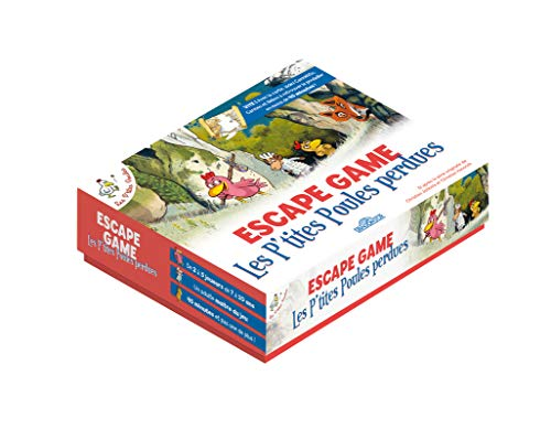 Les P'tites Poules - Escape game - Les P'tites Poules perdues - Escape game enfants - De 2 à 5 joueurs - Dès 7 ans