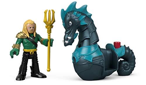 Mattel Imaginext Fisher-Price DC Super Friends Aquaman & Seahorse 6