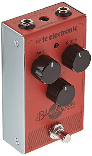 tc electronic Blood Moon Phaser Vintage Style Pedal with Four-Stage Filter and All-Analogue Circuit