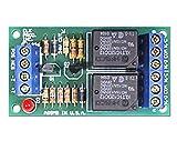 ELK PRODUCTS ELK-924 125 VAC, 12/24 VDC, Sensitive Relay, W/ 1.2 MA Trigger