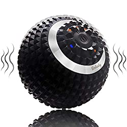 Wolady Electric Massage Ball Vibrating Massage Ball Self-massage fascia ball for muscle and plantar USB Rechargeable Pain relief Muscle tension