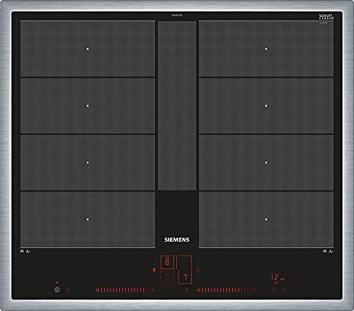 Siemens ex645lyc1e iQ700hobs eléctrico/vitrocerámica/vidrio y cerámica/58,3cm/Power Boost Función/Negro