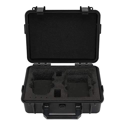 Hunpta @ Tragetasche Reiseschutz Zubehör für DJI Mavic Mini 2, Explosionsgeschützter Tasche Koffer Schutzhülle Drohne Staubdicht Feuchtigkeitsbeständig Aufbewahrungstasche 25x9,1x17,8 cm