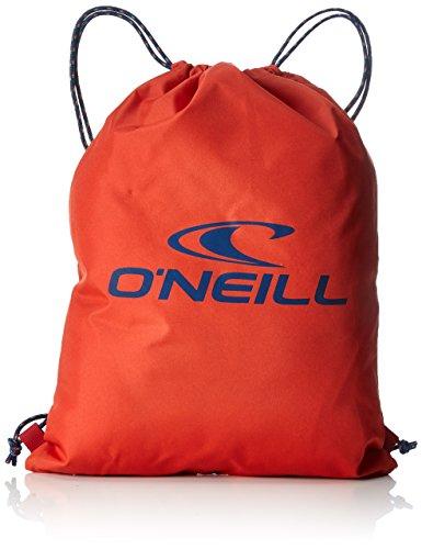 O'Neill Herren Bm Gym Sack Stoff-und Strandtasche Rot (Aurora Red)