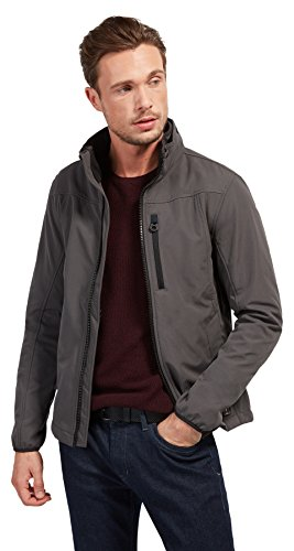TOM TAILOR Herren Softshell Jacket Jacke, Grau (Cyber Grey 2740), Medium