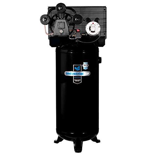 Industrial Air ILA4546065 60-Gallon Hi-Flo Single Stage Cast Iron Three Cylinder Air Compressor