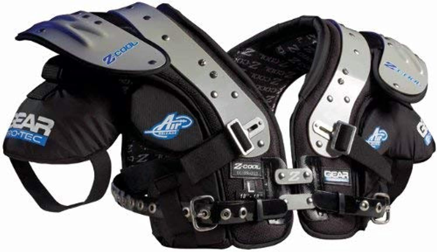 Gear ProTec ZCool OL DLPro Select Football Shoulder Pads