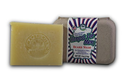 Maple Hill Naturals: Honest for Men Original Scent Beard Wash Shampoo and Conditioner