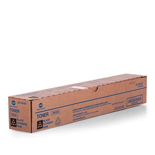 Original Konica Minolta A11G151 / TN216K, für Bizhub C 220 Premium Drucker-Kartusche, Schwarz, 29000 Seiten
