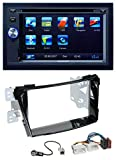 caraudio24 Blaupunkt Las Vegas 570 Bluetooth DVD USB CD 2DIN MP3 Autoradio für Hyundai i40 VF ab 11 Klavierlack