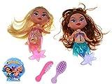 VENTURA TRADING Sirenitas Sirenas muñecas Juguete para niñas Set de Sirena...