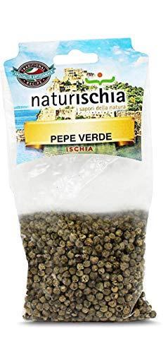 Naturischia - 3 confezioni di Grani di pepe verde 50 gr. ciascuna - Prodotto tipico Ischia
