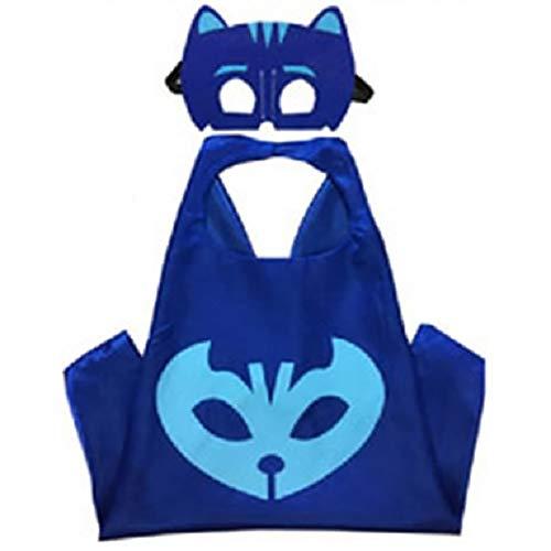 Fantasia capa e mascara Pj Masks - Menino Gato