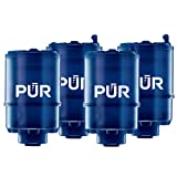 PUR MineralClear Faucet Water Filter Replacement for Filtration Systems, 4 Pack, 4 Count