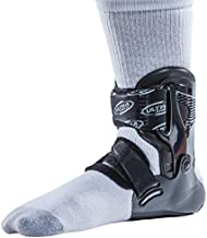 Ultra Zoom Ankle Brace for Injury Prevention, Provides Support and Helps Prevent Sprained Ankles in Volleyball, Basketball, Football - Supportive, Secure Brace for Athletes - Black, Small/Medium