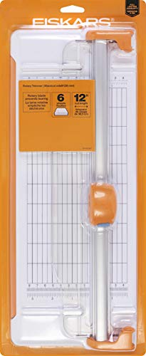 Fiskars 12 Inch Rotary Paper Trimmer (154480-1001)