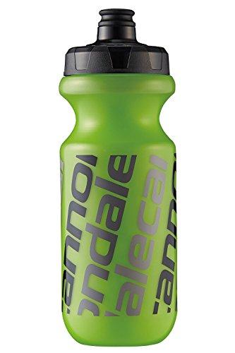 Cannondale - Bottle Diagonal Trans 20oz, Color Verde,Negro