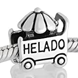 Abalorio Niagarra carrito de helado, similar abalorios pandora