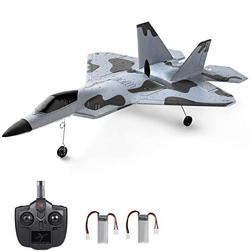 WLtoys Remote Control RC Plane,2.4GHz 3 Channel Airplane, F22 F-22 Raptor...