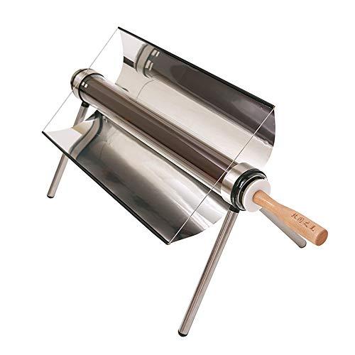 XUNMAIFWT Luxuriöser Tragbarer Solarkocher Multifunktionale Solargri Solar-Barbecue-Herd tragbare Solarofen Sun Cooker BBQ Grill Nahrungsmittelgrad Rauchfrei für Reise Camping Im Freien Uhrenbox
