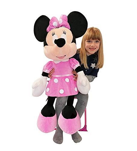Famosa Softies Peluche Minnie Mouse 80cm Disney Junior - 260003930