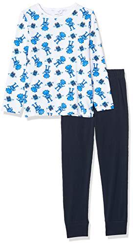 NAME IT Baby-Jungen 13177817 Zweiteiliger Schlafanzug, Mehrfarbig(Dark SapphireDark Sapphire), 86 (Herstellergröße: 86-92)