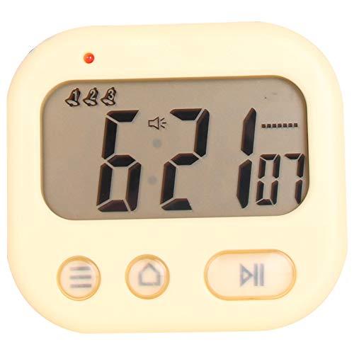 LED Digital Alarma Despertador,Despertador de cabecera,pequeño Despertador con vibración,,Anself Reloj Repeticion activada por luz Snooze Sensor de luz Tiempo Fecha Temperatura,4 Colores