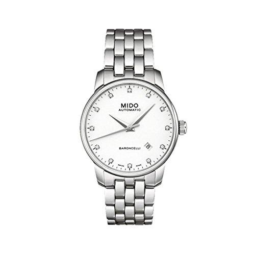 Mido Herren-Armbanduhr XL Baroncelli Analog Automatik Edelstahl M86004661