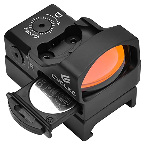 Cyelee Red Dot Sight for Pistol, Micro 3.5 MOA Reflex Sight (Fit Vortex Venom/Burris Fastfire 3 Cut Handgun), Picatinny Mount