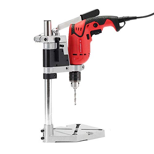 LKSDD Drill Presses,Electric Drill Rig 400Mm Drilling Support Frame, Bracket Fixture Bank Support Pressure Electromechanical Drilling DIY Woodworking