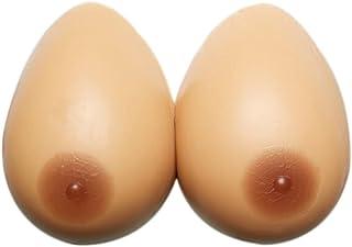 Monbedos – Paire de faux seins en forme de goutte en silicone pour travestis, transgenres, cosplay, mastectomie - - L