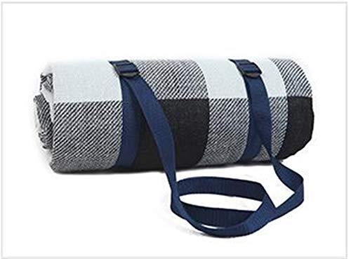 Manta de picnic, Gran tamaño suave portátil colchón colchón plegable picnic al aire libre picnic que durmiente estera impermeable plaid playa manta Manta Turista Match Para acampar al aire libre