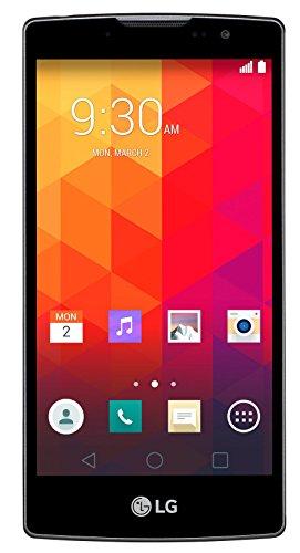 LG Spirit Smartphone (11,94 cm (4,7 Zoll) HD-IPS-Display, 1,3 GHz-Quad-Core-Prozessor, 5 Megapixel-Kamera, 8 GB interner Speicher, Android 5.0) weiß