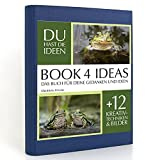BOOK 4 IDEAS classic | Glückliche Frösche, Eintragbuch mit Bildern