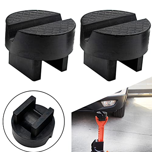 Unique Design Universal Car Jack Stand Support Pad Floor Lifting Slotted Frame Rail Protector Guard Pinch Weld Protector Rubber