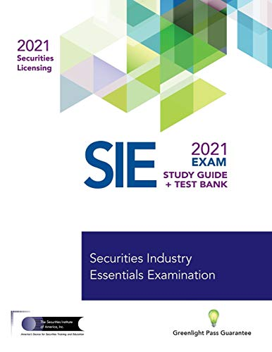 Compare Textbook Prices for SECURITIES INDUSTRY ESSENTIALS EXAM STUDY GUIDE 2021 + TEST BANK  ISBN 9781937841027 by The Securities Institute of America, Inc.