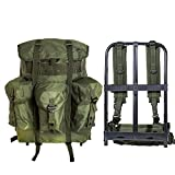 MT Military Surplus Large Alice Pack Army Survival Combat Backpack Alice Rucksack Olive Drab
