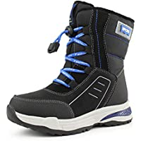 Hawkwell Boys Girls Waterproof Snow Boots